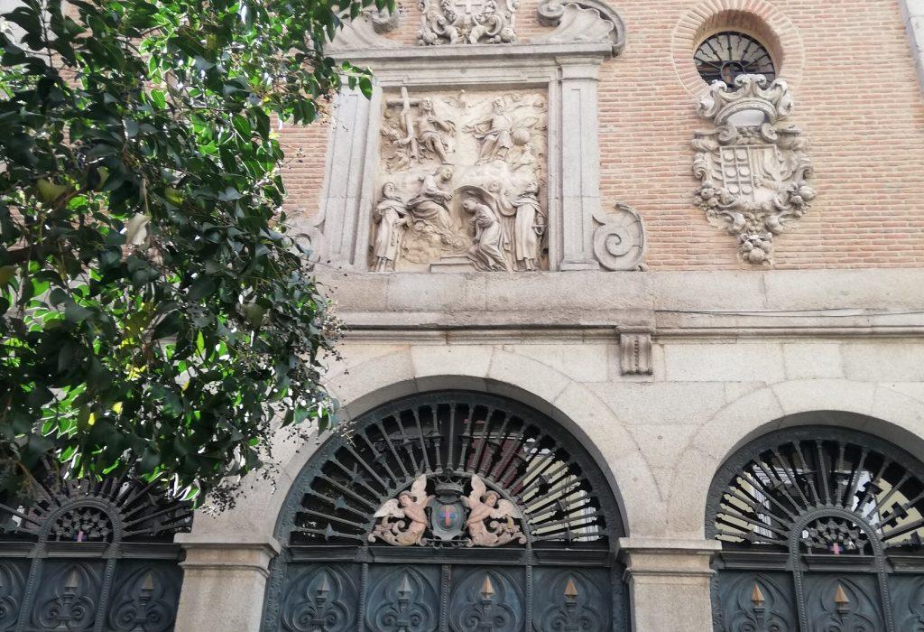 El convento de las trinitarias descalzas de San Ildelfonso